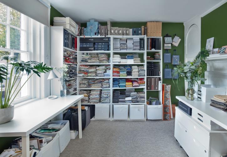 The Fabric Room at Studio Hooton